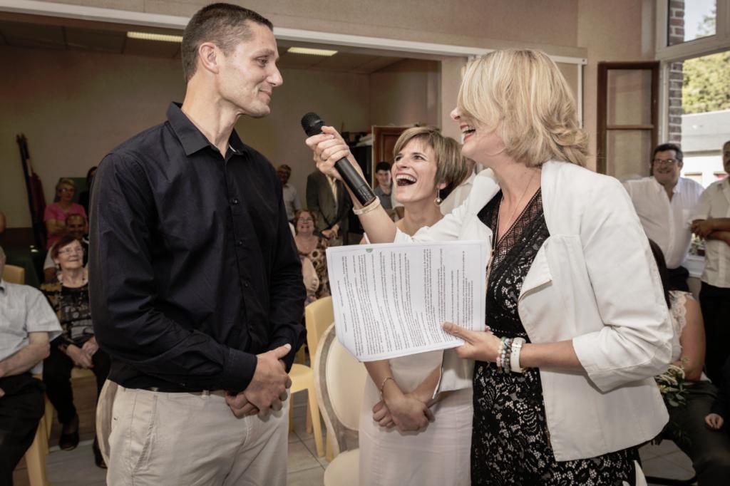 Recette pour un mariage surprise rires