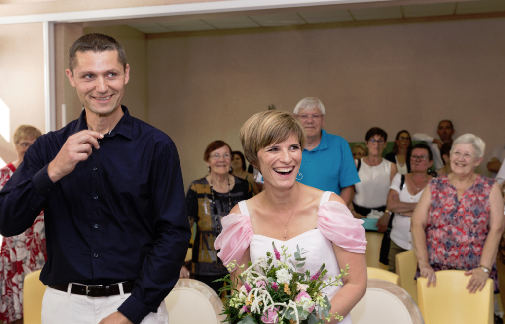 Recette pour un mariage surprise mairie