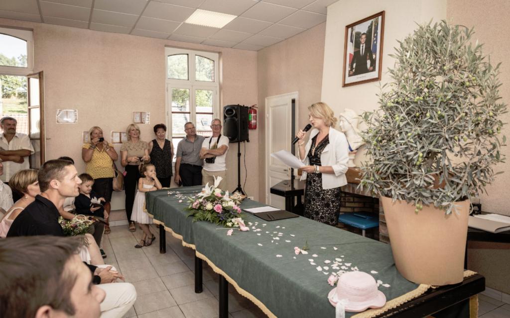 Recette pour un mariage surprise officiante