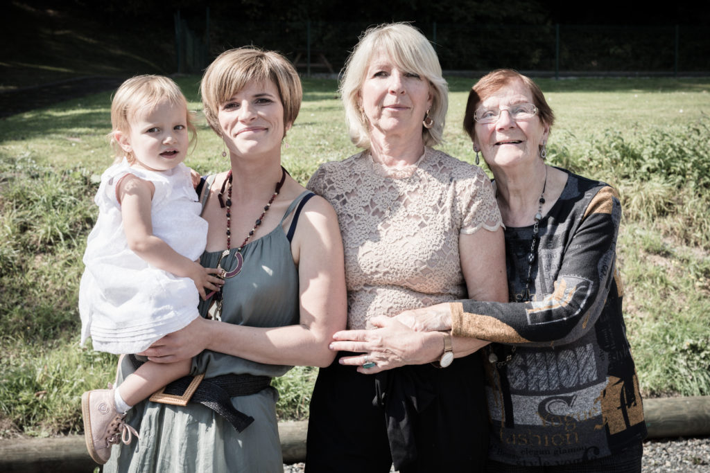 quatre générations femmes